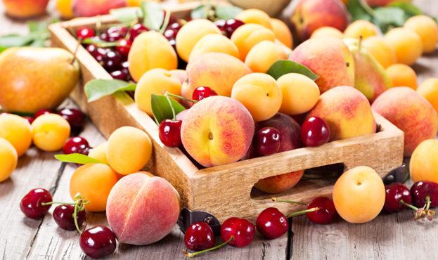 Fruit_Peaches_Cherry_488456